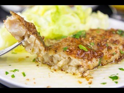 Keto Lemon Butter White Fish Low Carb Recipe