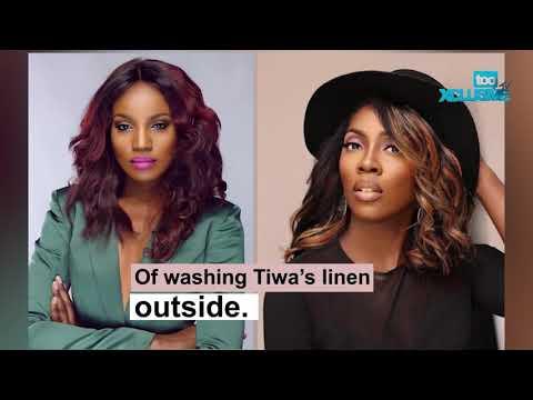 Tiwa Savage Humiliates Seyi Shay As They Clash In Public (At The Salon) VIDEO