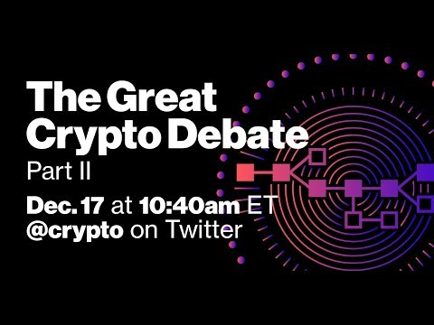 LIVE: The Great Crypto Debate (Part II)