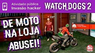 Watch Dogs 2 - HACKEADA ÉPICA DE MOTO e A VOLTA DA FONTE DOS DESEJOS / Invasão Hacker Online
