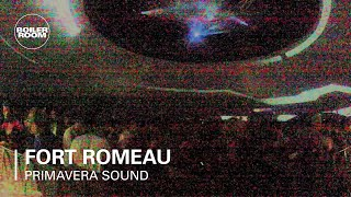fort romeau boiler room x bowers wilkins primavera sound dj set