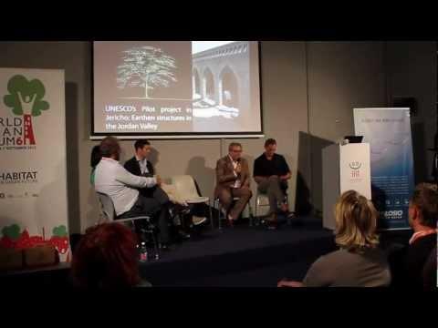 Building Green Futures launch at the UN-HABITAT World Urban Forum 6 in Naples, Italy