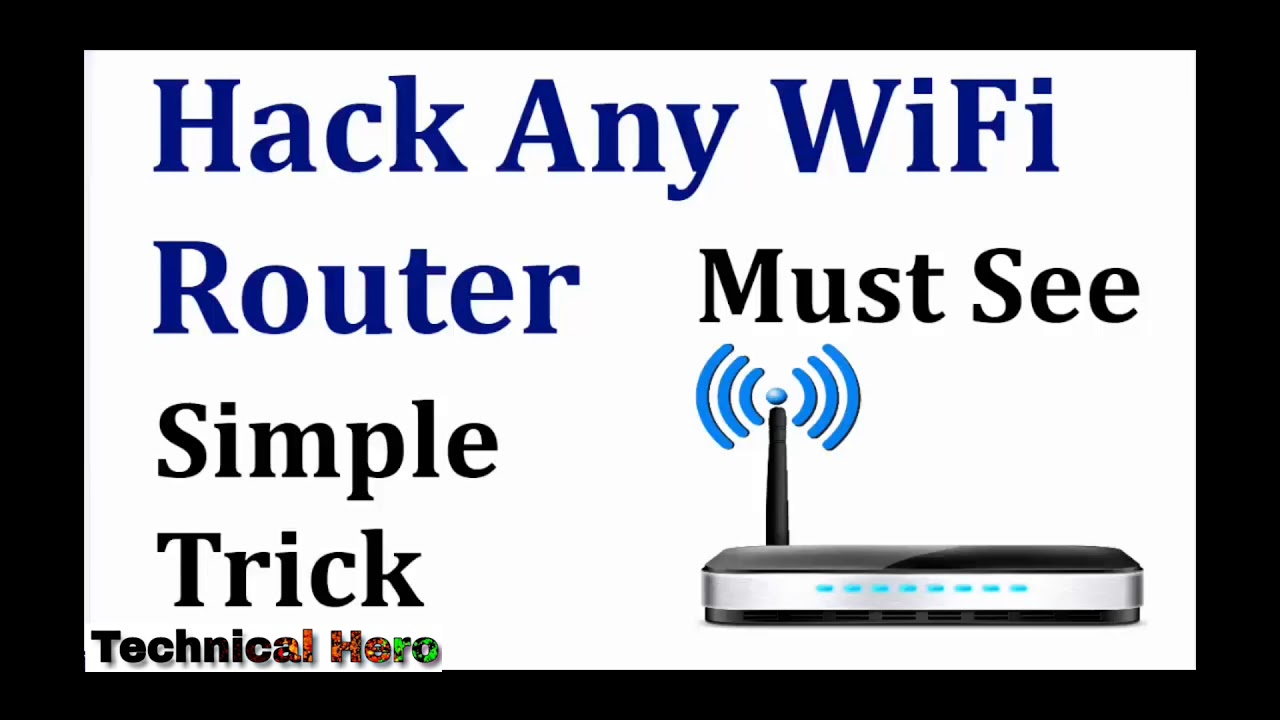 How to hack wifi password without software in hindi