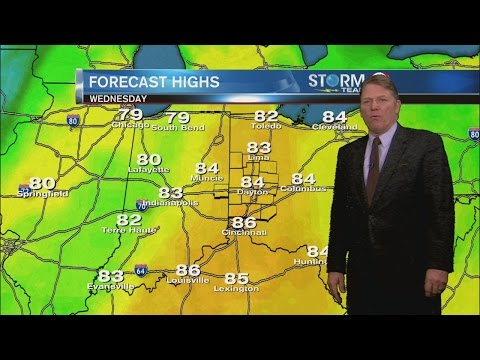 2 NEWS at 6pm Weather