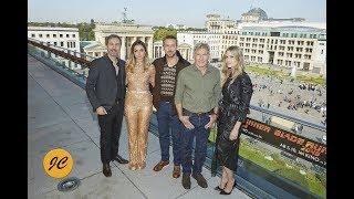 Blade Runner 2049 - Photocall In Berlin: Ryan Gosling, Harrison Ford, Denis Villeneuve
