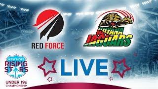 LIVE Trindad & Tobago vs Guyana | West Indies Under 19 Championship 2019