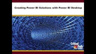 خلق Power BI الحلول باستخدام الطاقة الاستعلام Power Pivot