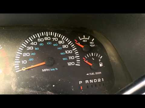 gauge 97 not working escort gas
