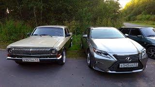 """Что такое """"ПОГОНЯЕМ""""? Волга 1JZ-GE vs Lexus ES"""