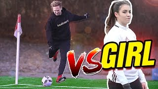 ULTIMATE CORNER CHALLENGE (FK ⚽ VS. GIRL 🙋)