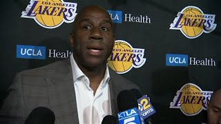 Lakers' president Magic Johnson abruptly resigns