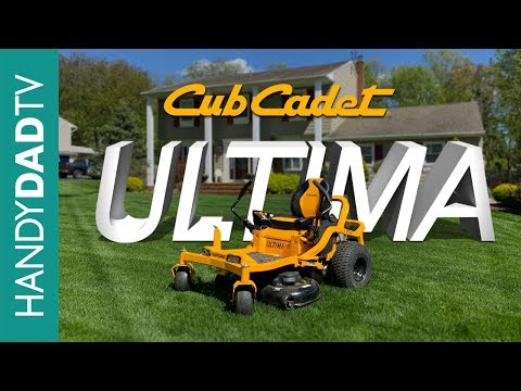 Cub Cadet ULTIMA ZT1 Zero Turn Mower Review