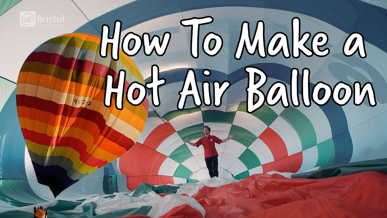 how to make a hot air balloon do try this at home we