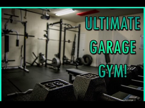 Building a garage gym part flooring insulation and final