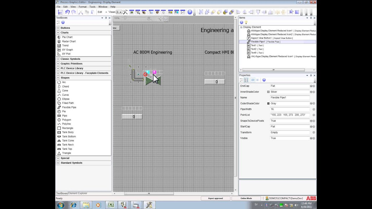Compact HMI Engineering Graphics Builder