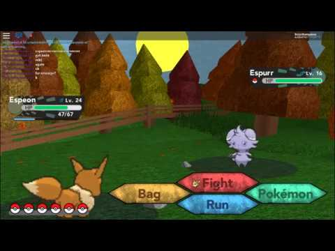 How to evolve Eevee into Espeon | Roblox Pokemon Brick Bronze