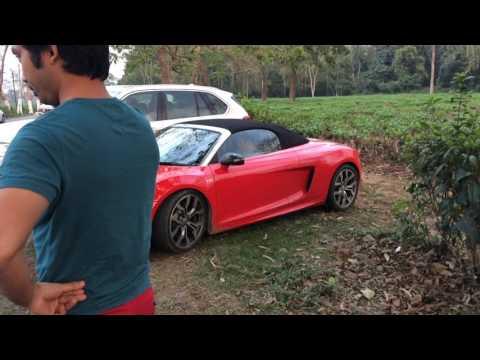 Audi R8 in Assam (bokakhat)
