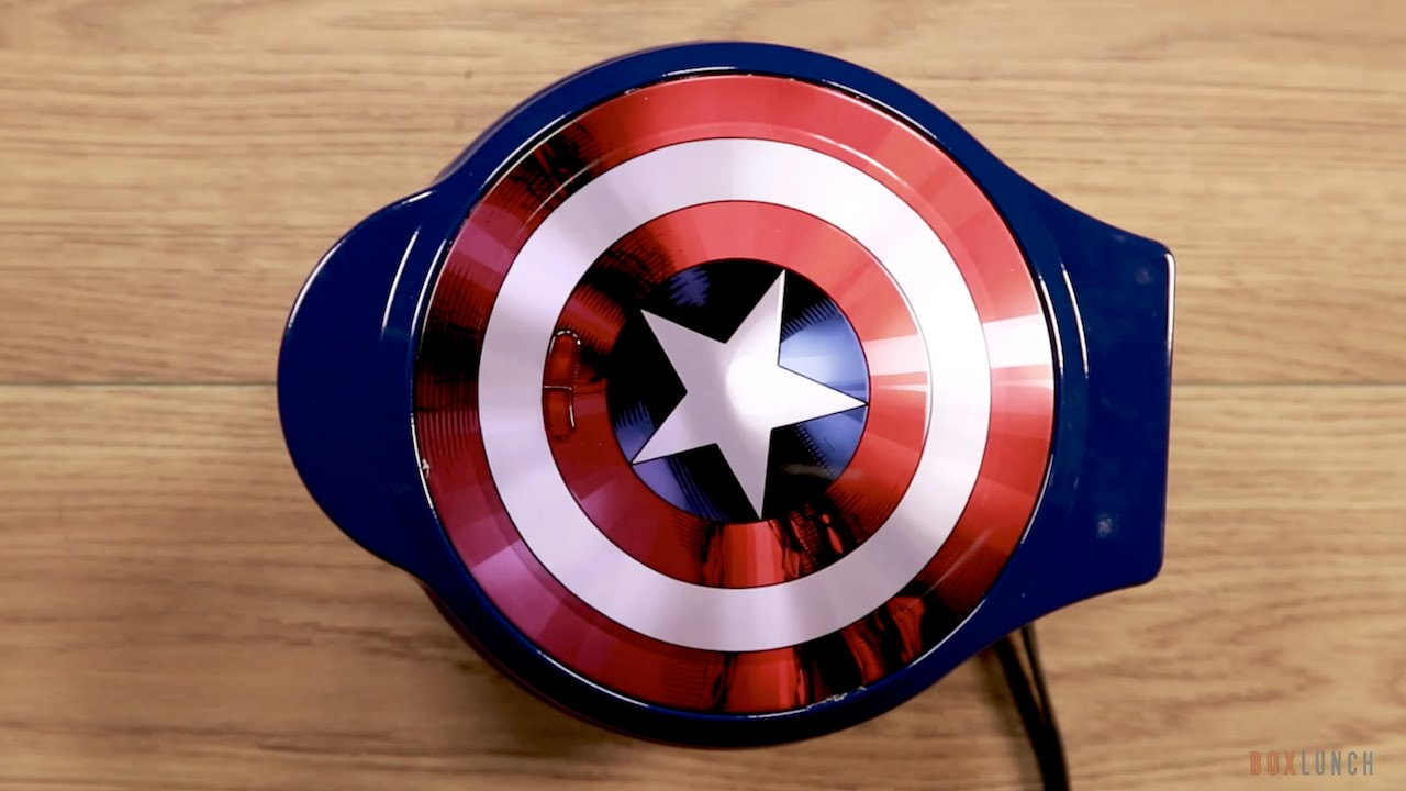 captain america waffles boxlunch youtube
