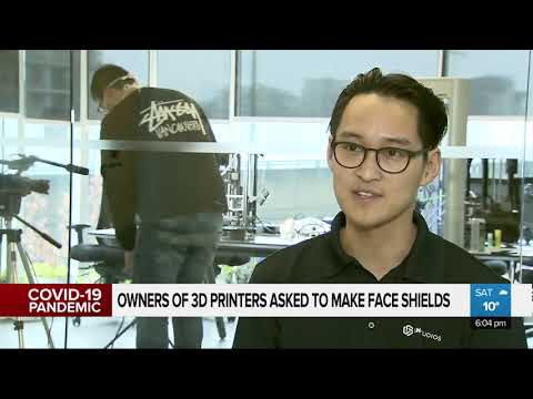 Vancouver Company Uses 3D Printers To Make Hospital Face Shields