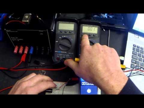 Tutorial 9 : Capacitor experiments ( charging and discharging ) GCSE AQA Electronics