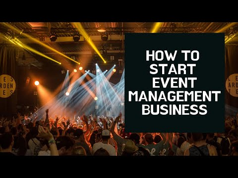 How To Start Event Management Business | Small Business Idea