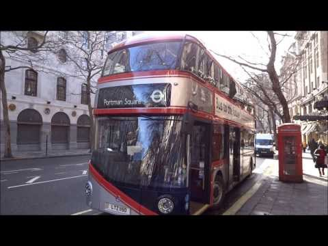 LT150 - Blind Change - Chrome New Bus For London