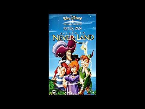 Opening of Return to Neverland UK VHS [2002]