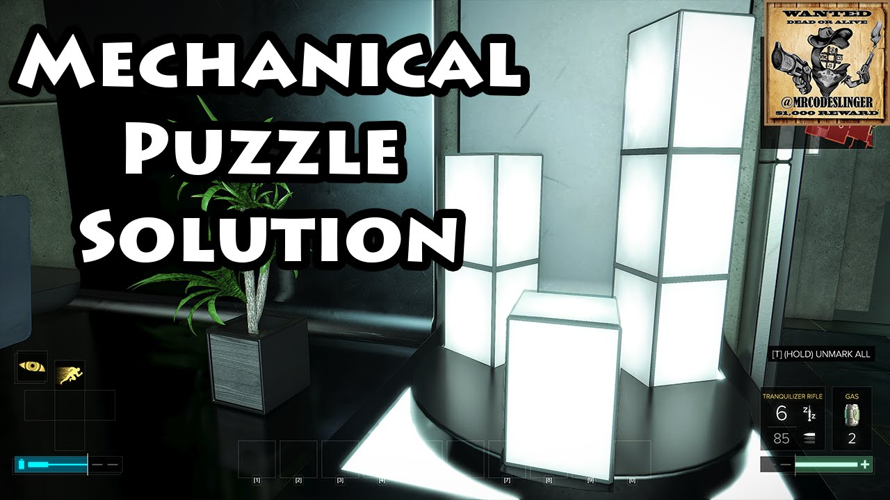 Deus Ex Mankind Divided - Mechanical Puzzle Solution - Palisade Property  Bank