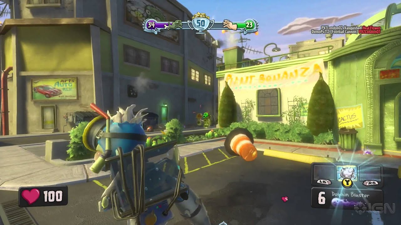 zombies plants video game garden warfare computer dp playstation amazon vs games ca and
