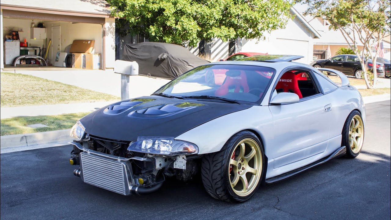 1999 Mitsubishi Eclipse Goes In For Paint Youtube