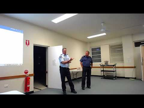Presentation by Ainslie Fire Station on fire prevention 15 N