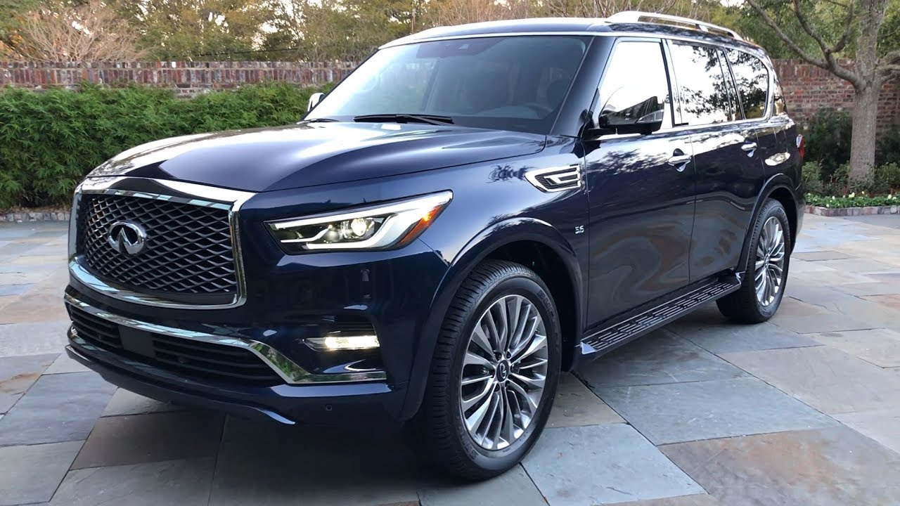 2018 Infiniti QX80 Walkaround (No Talking) - YouTube