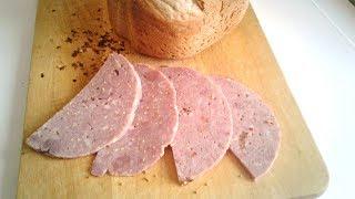 Колбаса с горчицей в ветчиннице Redmond.  Рецепт и обзор
