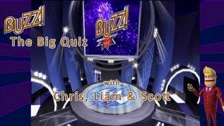 Let's Play Buzz: The Big Quiz (part 1) w/ Chris, Liam & Scott