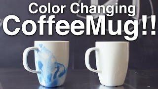 Color Changing Coffee Mug!!