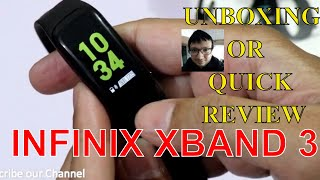 Infinix Xband 3 Unboxing and Review | Infinix XB03