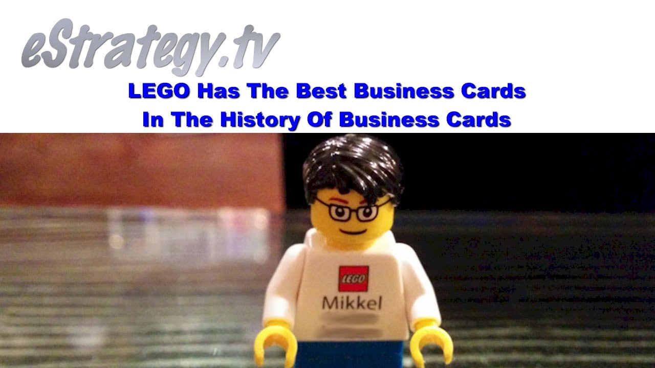 LEGO Has The Best Business Cards In The History Of Business Cards ...