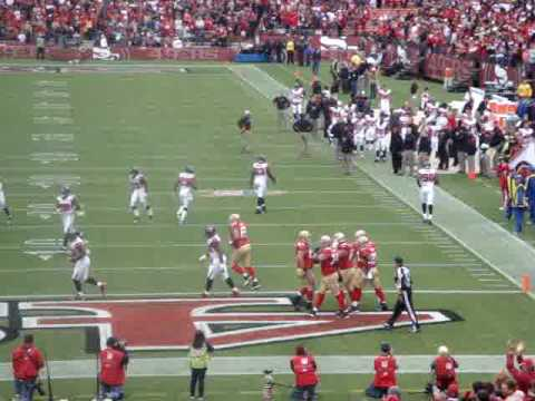 Glen Coffee 1st TD Run Of His Career,