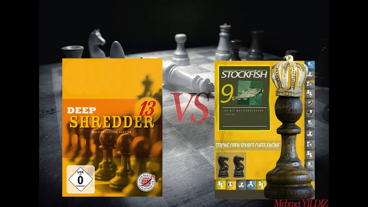 Deep Shredder 13 VS Stockfish 9