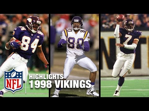 1998 Minnesota Vikings Highlights Mashup | NFL