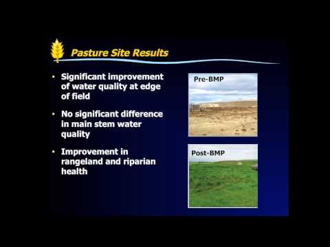 Assessing Agricultural Practices to Improve Watershed Management in Alberta