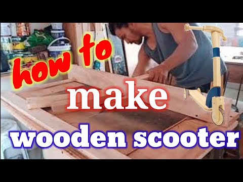 DIY Wooden Scooter for kids by ROY
