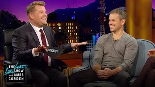 Matt Damon & James Corden: Separated at Birth?