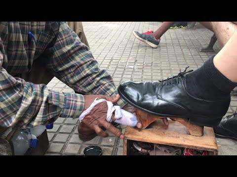 The best shoe shine of all South America