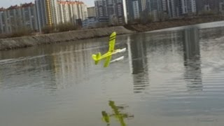 RC Twinstar and FUNCUB on floats (SPb)