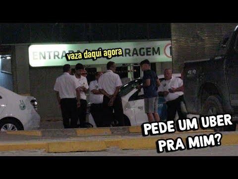 PEDINDO CELULAR DE TÁXISTA PRA PEDIR UBER #Quem manda é você 27