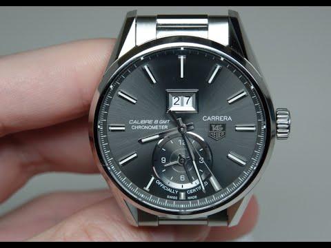 Tag Heuer Carrera Calibre 8 GMT Men's Watch Review Model: WAR5012.BA0723
