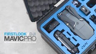 First Look - DJI Mavic Pro hard case by GoProfessionalCases.com