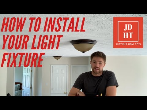 how-to-install-flush-mount-ceiling-light-fixtures-:-home-improvement-made-easy