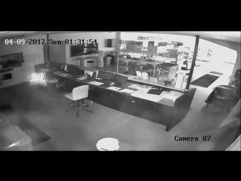 Burglary at Hertz